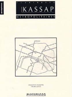 Métropolitaines Sylvain Kassap Partition Clarinette - laflutedepan