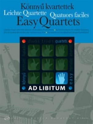 Easy Quartets Partition Quatuors - laflutedepan
