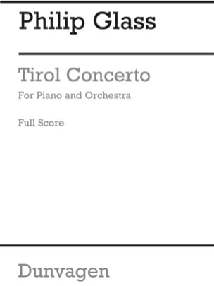 Tirol Concerto GLASS Partition Grand format - laflutedepan