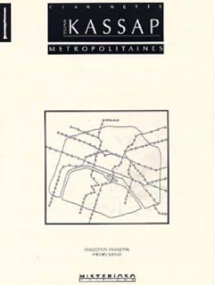 Métropolitaines - Sylvain Kassap - Partition - laflutedepan.com