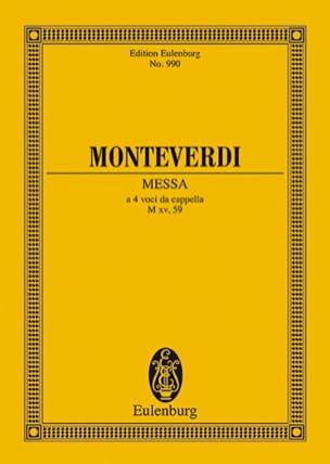 Messe Nr. 2 F-Dur MONTEVERDI Partition Petit format - laflutedepan