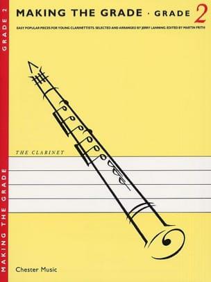 Making the grade Clarinet - Grade 2 compositeurs Divers laflutedepan