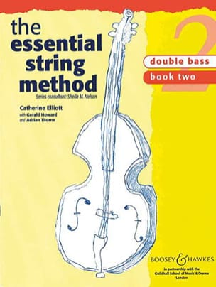 Essential string method, Volume 2 - Double bass laflutedepan