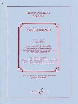 Tessa Yves Gourhand Partition Clarinette - laflutedepan