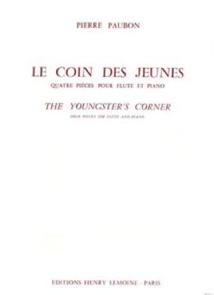 Le coin des jeunes - Pierre Paubon - Partition - laflutedepan.com