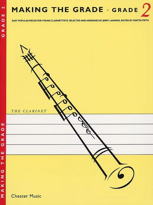 Making the grade Clarinet - Grade 2 - laflutedepan.com