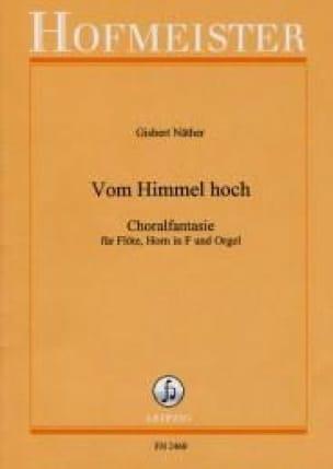 Vom Himmel hoch - Flöte Horn in F Orgel - laflutedepan.com