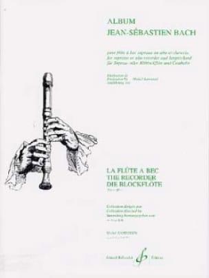 Album Jean-Sebastien Bach - BACH - Partition - laflutedepan.com