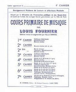 Cours primaire de musique n° 4 Louis Fournier Partition laflutedepan