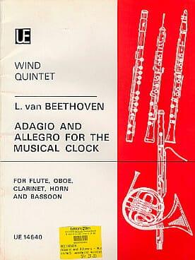 Adagio and Allegro for The Musical Clock - Wind quintet laflutedepan
