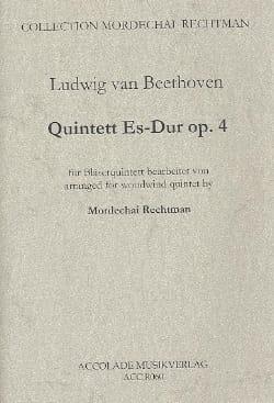 Quintett En Mib Maj. Op.4 - BEETHOVEN - Partition - laflutedepan.com