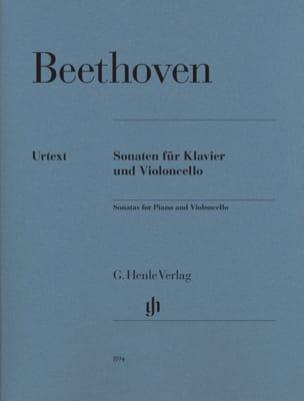 Sonates pour Violoncelle et Piano BEETHOVEN Partition laflutedepan