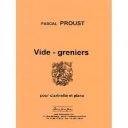 Vide-Greniers Pascal Proust Partition Clarinette - laflutedepan