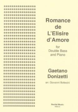 Romance de L'Elisir d'Amore DONIZETTI Partition laflutedepan