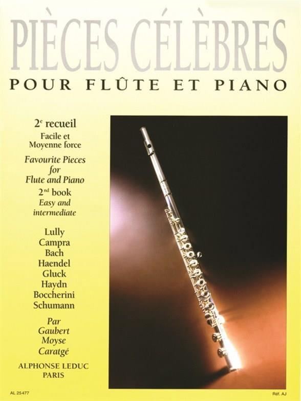 Pièces Célèbres - Volume 2 - Partition - laflutedepan.com
