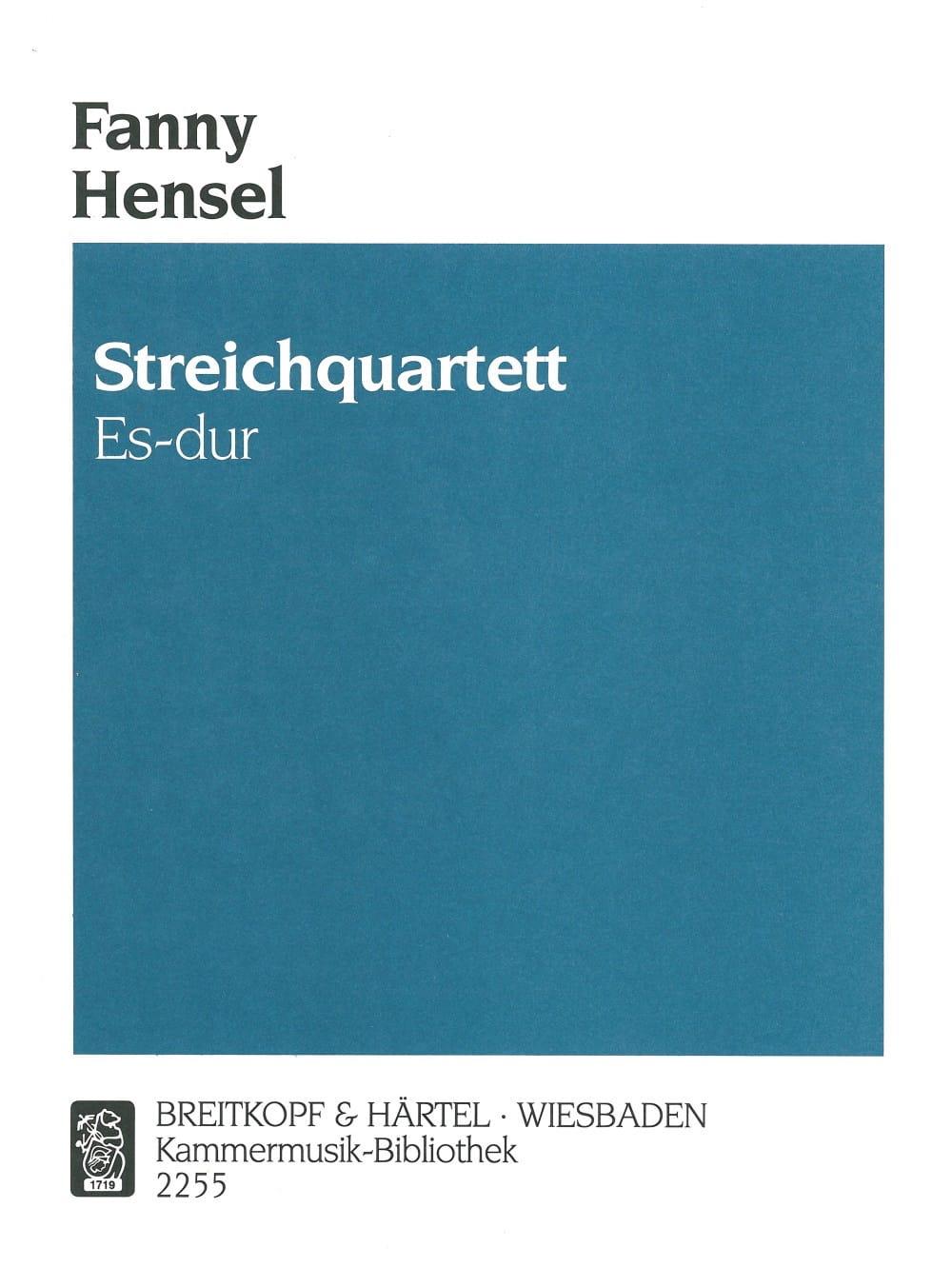 Streichquartett Es-dur -Partitur + Stimmen - laflutedepan.com