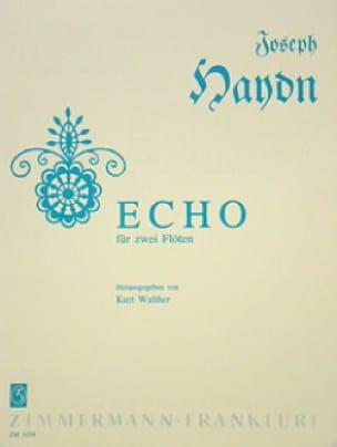 Echo - 2 Flöten - HAYDN - Partition - laflutedepan.com
