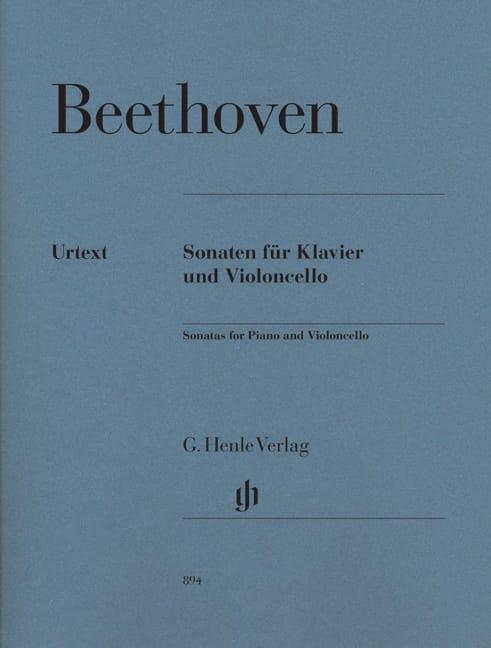 Sonates pour Violoncelle et Piano - BEETHOVEN - laflutedepan.com