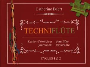 Techniflûte Catherine Baert Partition Flûte traversière - laflutedepan