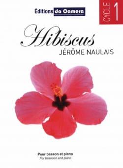 Hibiscus - Basson et Piano Jérôme Naulais Partition laflutedepan