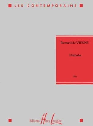 Ubuhuha - Vienne Bernard De - Partition - laflutedepan.com