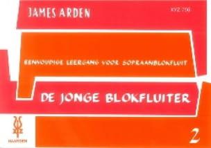 De Jonge Blokfluiter - Volume 2 - James Arden - laflutedepan.com