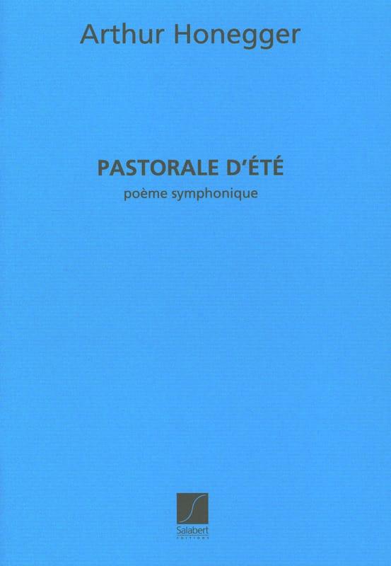 Pastorale d'été - HONEGGER - Partition - laflutedepan.com