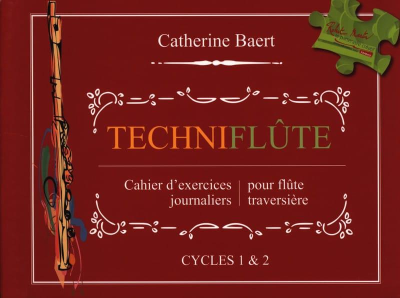 Techniflûte - Catherine Baert - Partition - laflutedepan.be