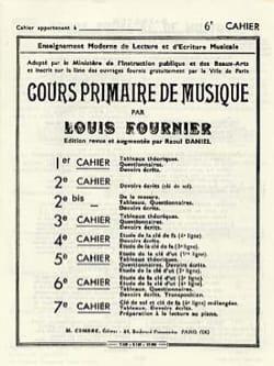 Cours primaire de musique n° 6 Louis Fournier Partition laflutedepan