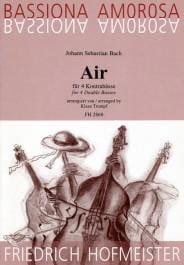 Air BACH Partition Contrebasse - laflutedepan