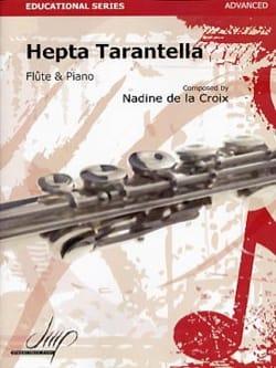 Hepta Tarantella la Croix Nadine De Partition laflutedepan