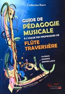 Guide de Pédagogie Musicale Catherine Baert Partition laflutedepan