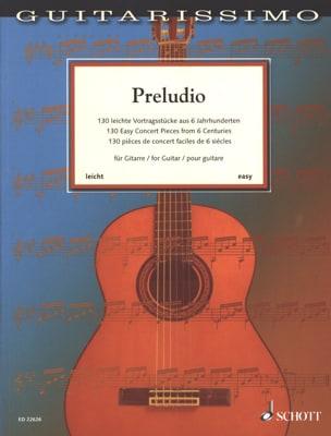 Preludio - Guitare Partition Guitare - laflutedepan