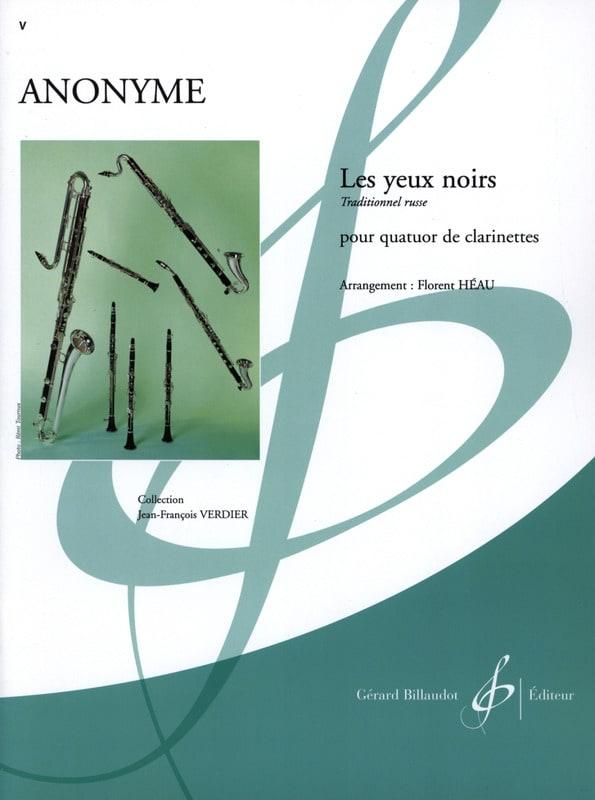 Les yeux noirs -Quatuor clarinettes - laflutedepan.com
