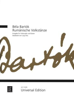 Rumänische Volkstänze - Violoncelle BARTOK Partition laflutedepan