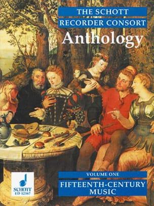The Schott Recorder Consort Anthology, Bd 1 Partition laflutedepan