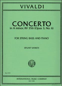 Concerto in A minor op. 3 n° 6 - String Bass VIVALDI laflutedepan