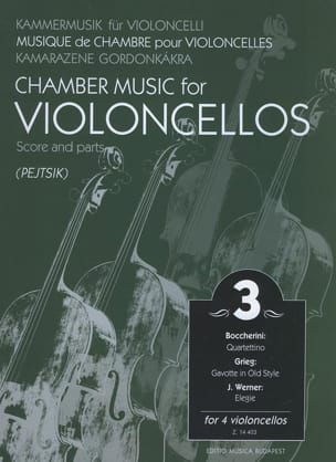 Chamber music for violoncellos - Volume 3 - Score + Parts laflutedepan