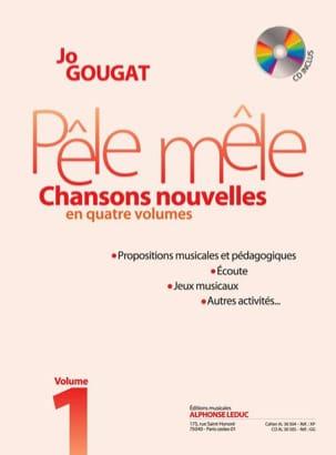 Pêle Mêle - Chansons Nouvelles Volume 1 Jo Gougat laflutedepan