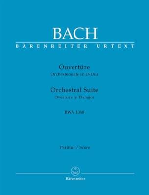 Orchestral Suite Ouverture BWV 1068 BACH Partition laflutedepan