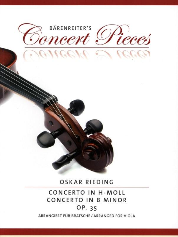Concerto en si bémol mineur, op. 35 - Oskar Rieding - laflutedepan.com