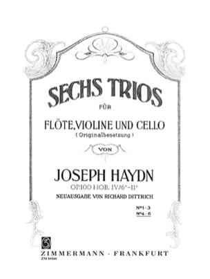 6 Trios Op.100 Vol.2 HAYDN Partition Trios - laflutedepan