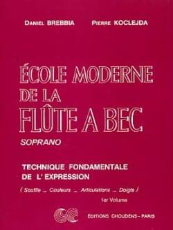 Ecole moderne de la Flûte à Bec Soprano Volume 1 laflutedepan