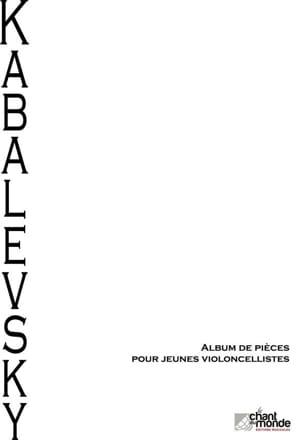 Album de pièces pour jeunes violoncellistes laflutedepan