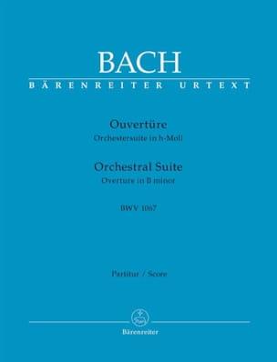 Orchestral Suite Ouverture BWV 1067 BACH Partition laflutedepan