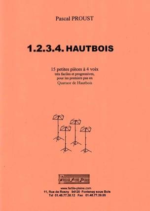 1.2.3.4. Hautbois Pascal Proust Partition Hautbois - laflutedepan
