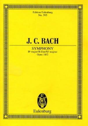 Sinfonie B-Dur, Op. 18/2 - Johann Christian Bach - laflutedepan.com