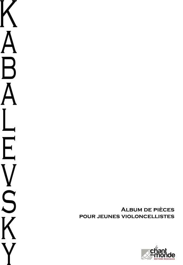 Album de pièces pour jeunes violoncellistes - laflutedepan.com