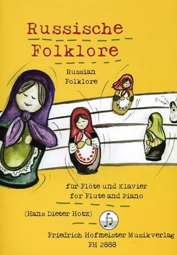 Russische Folklore - Flöte Klavier - Partition - laflutedepan.com