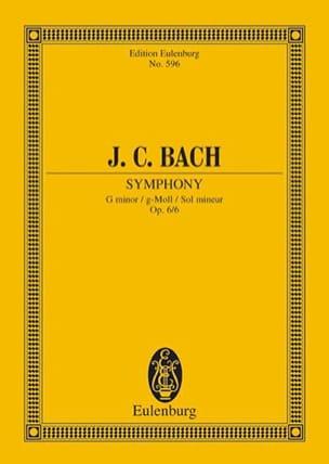 Sinfonie G-Moll, Op. 6/6 Johann Christian Bach Partition laflutedepan